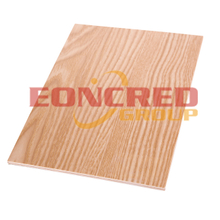 Laminated Plywood Panels Oak Red Furniture Double Sided