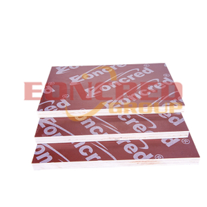 Poplar Red Film Faced Plywood for Construction