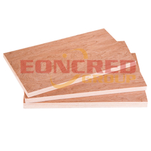12mm 1220x2440mm Bintangor Faced Poplar Commercial Plywood with holes