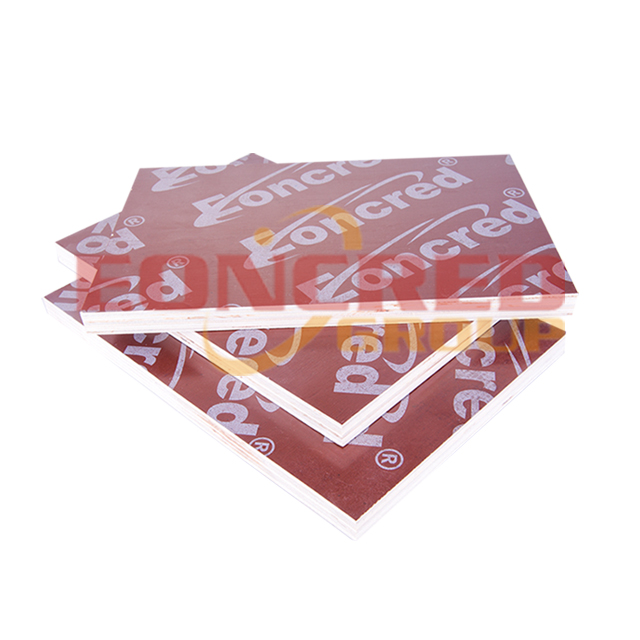 4x8 Poplar Red Film Faced Plywood for Construction