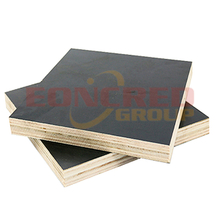 Poplar Waterproof Black film faced plywood