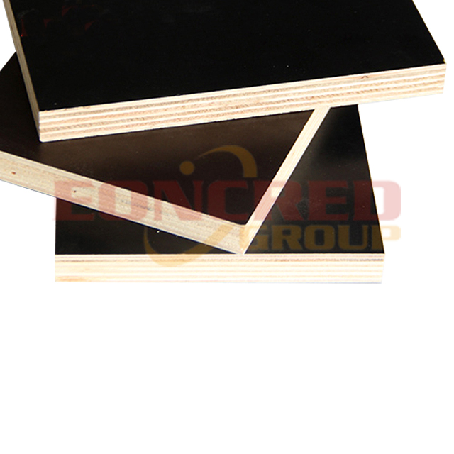 Waterproof Shuttering Black Film Faced Plywood