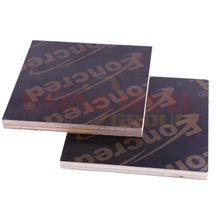 12mm Brown Plastic Film Faced Plywood