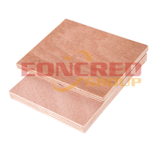 Fire-resistant marine plywood